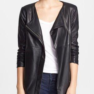 "Veda leather jacket ""Robinson"". Used"